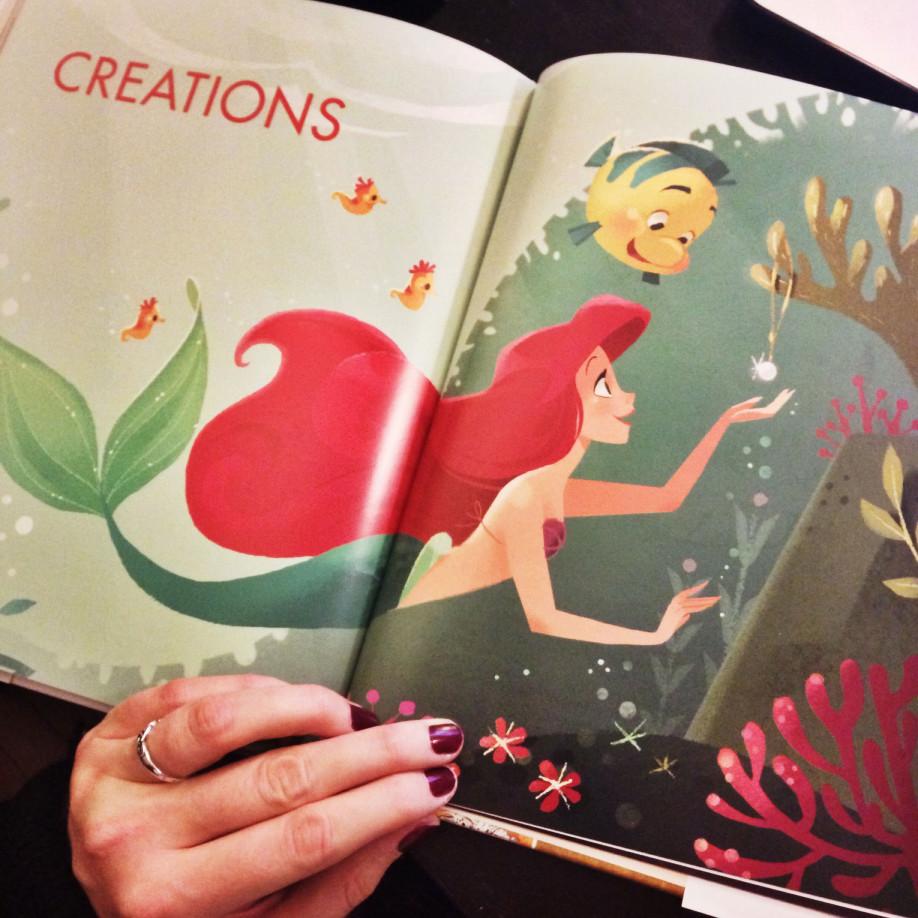 Un très beau livre Disney