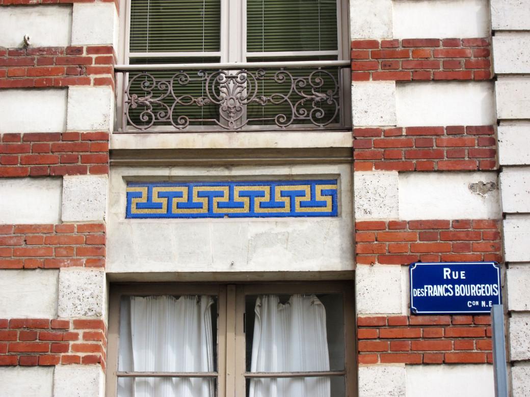 Mosaïques dans les rues de Rennes