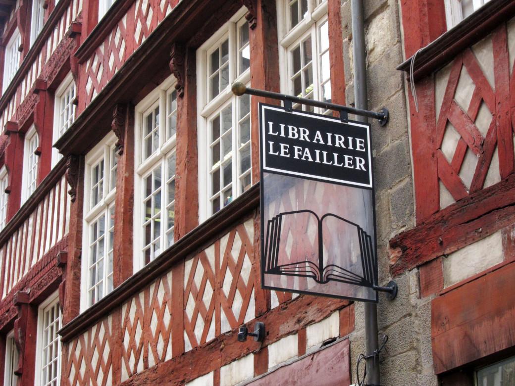 Librairie à Rennes