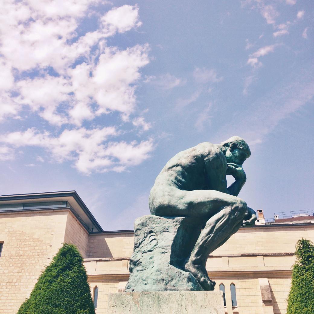 «Le Penseur» de Rodin