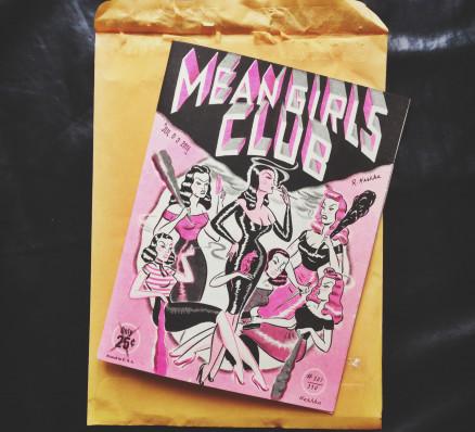 Meangirls Club fanzine