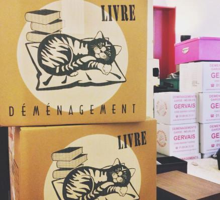 Les cartons de déménagement les plus choux du monde