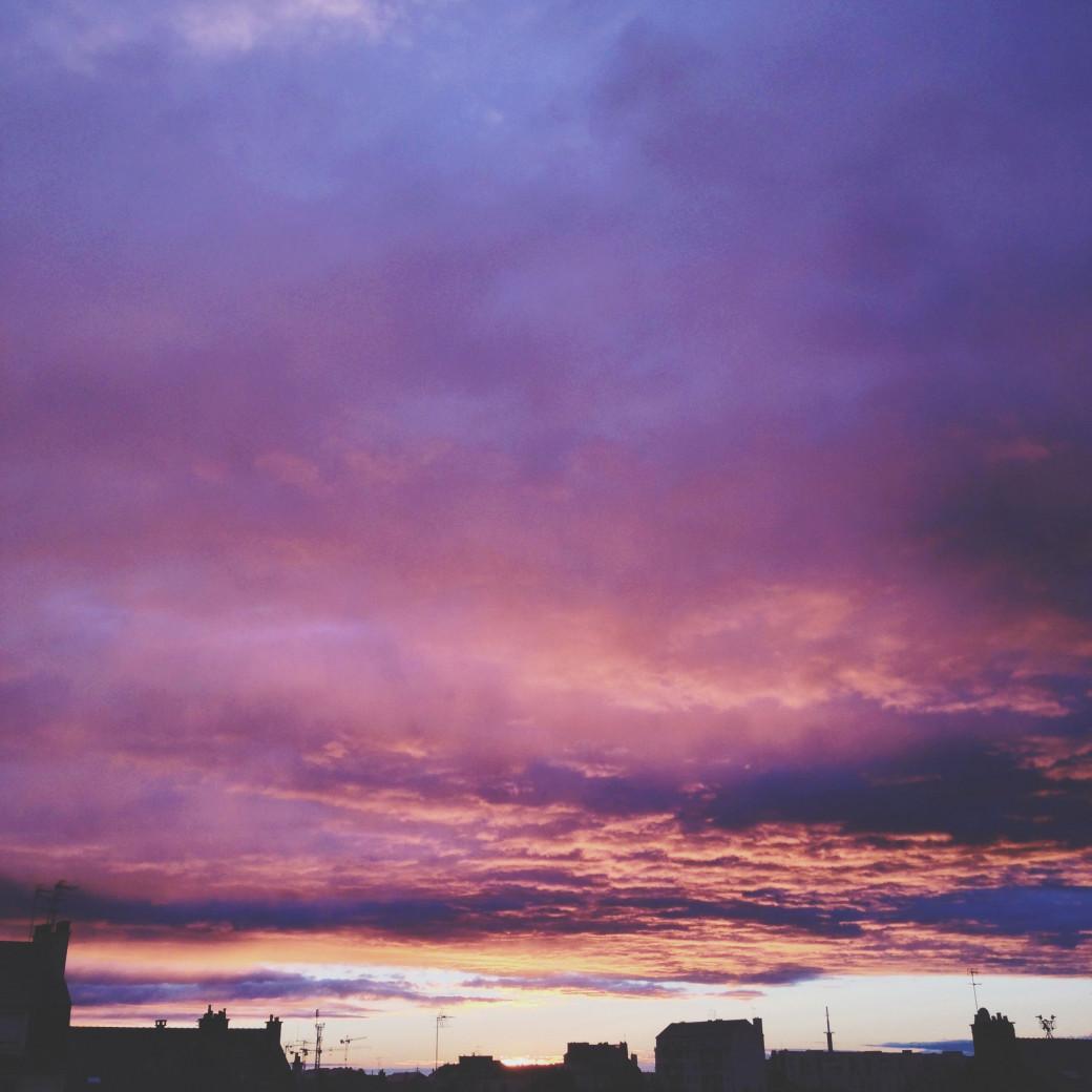 Le plus beau coucher de soleil