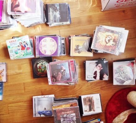 Rangement de mes disques