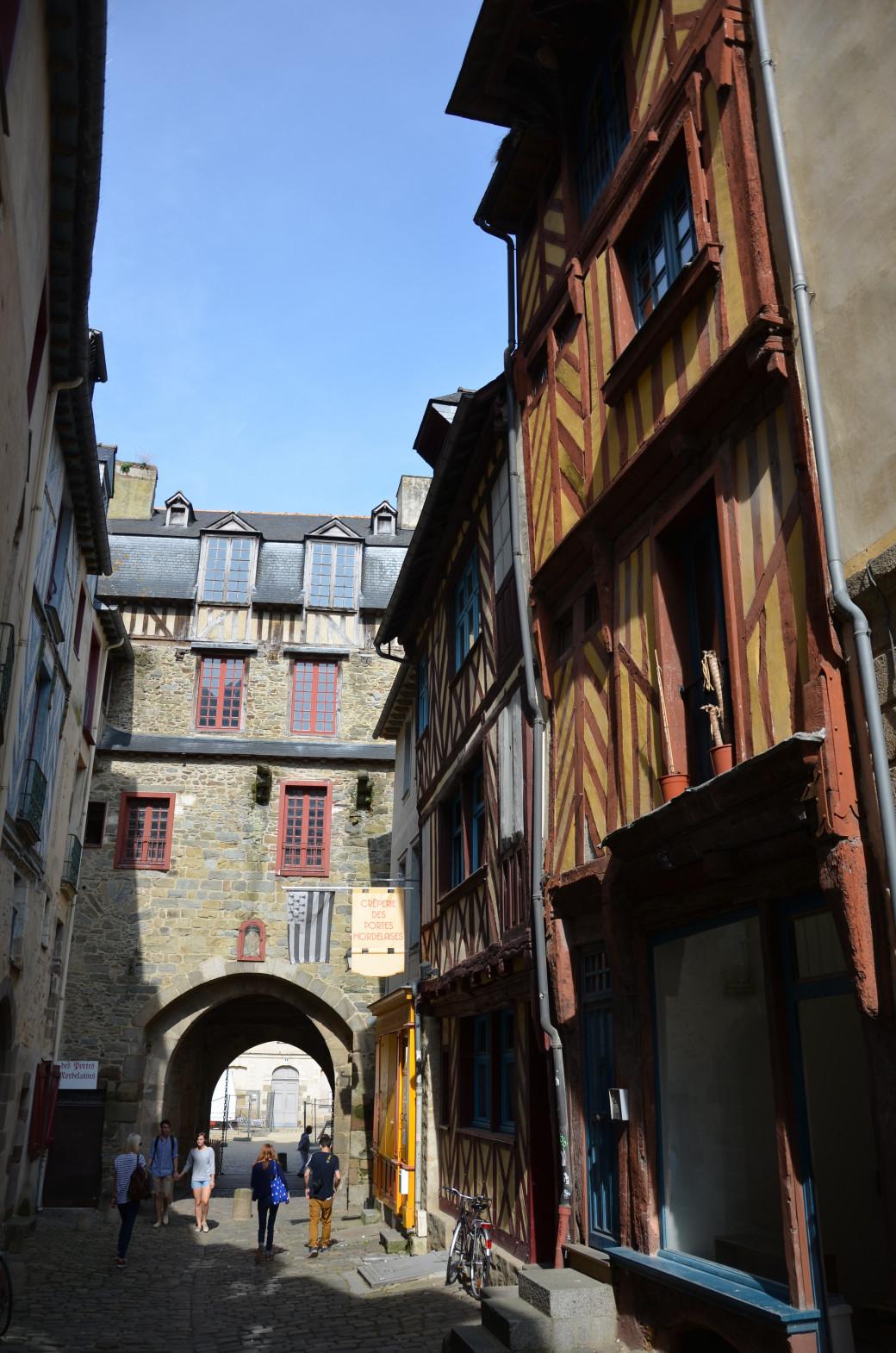 Les portes mordelaises, à Rennes