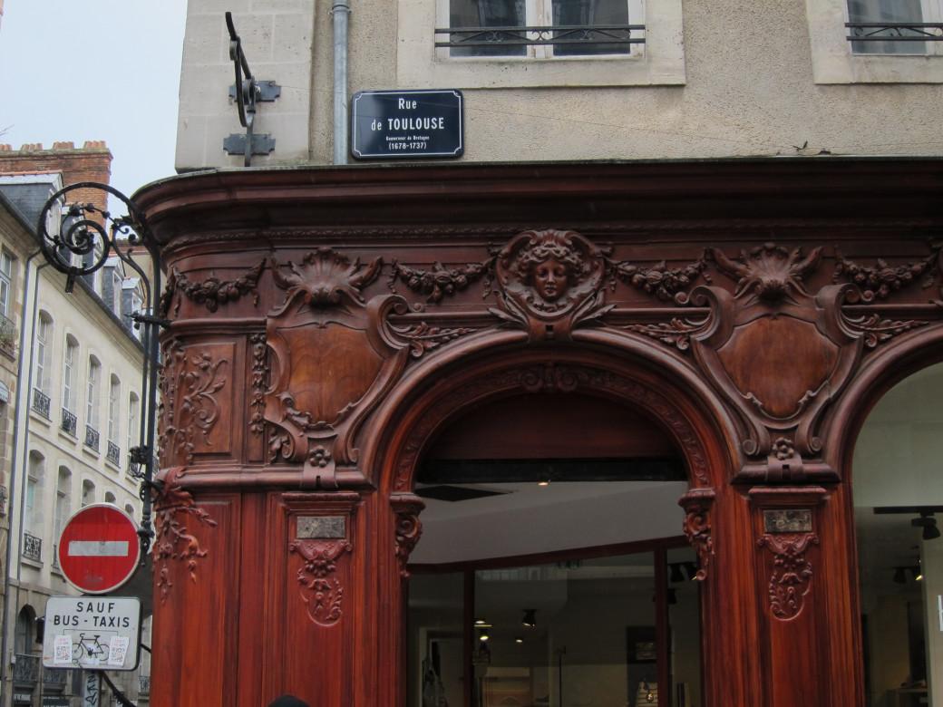 Rue de Toulouse, à Rennes