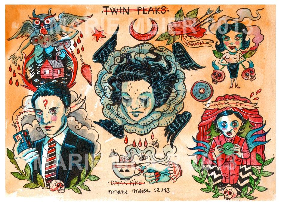 Twin Peaks par Marie Meier