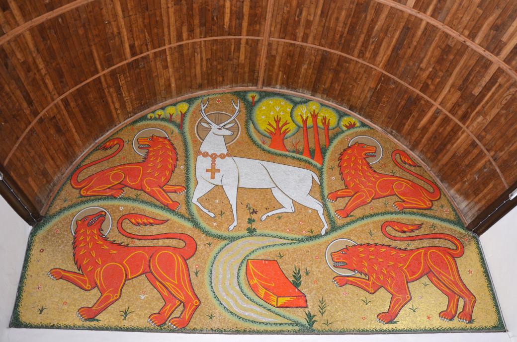 La chapelle du Graal à Tréhorenteuc