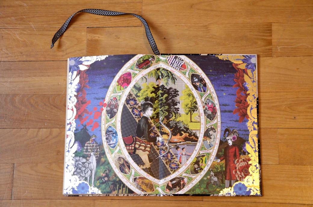 Magnifique carnet Christian Lacroix