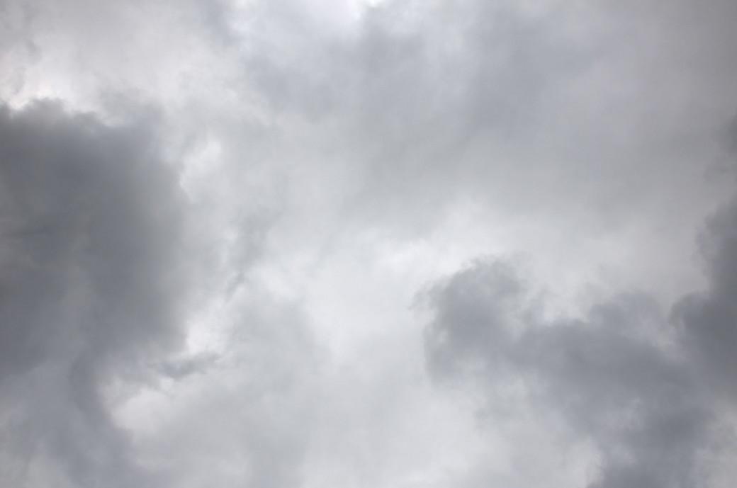 Ciel de coton gris