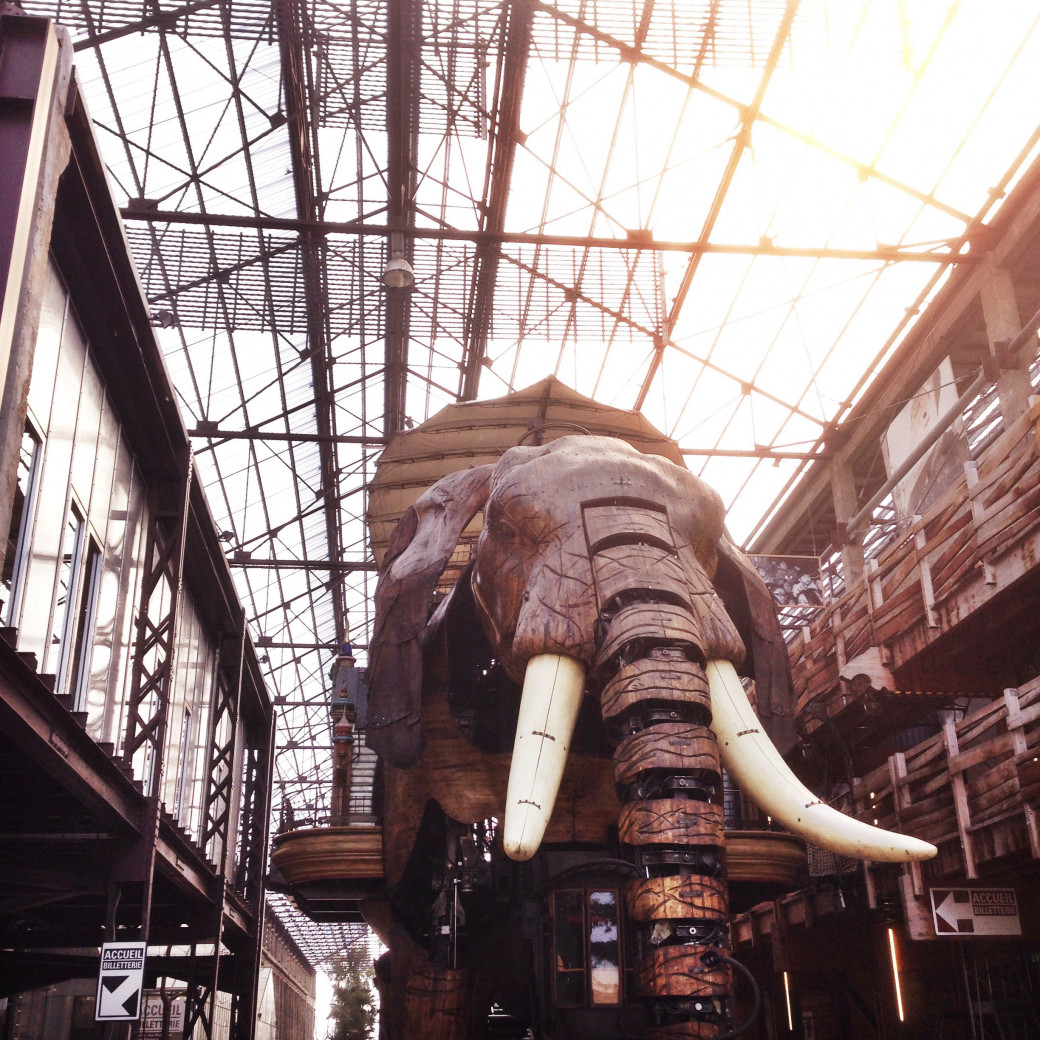 L'éléphant de Nantes (alias «Pépère» pour les intimes)
