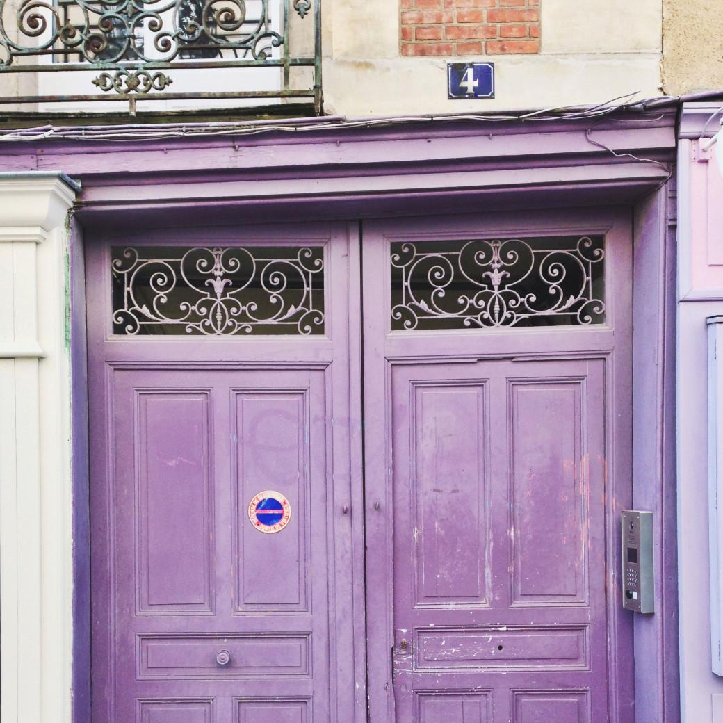 Oh la jolie porte! (Rue d'Argentré, à Rennes)