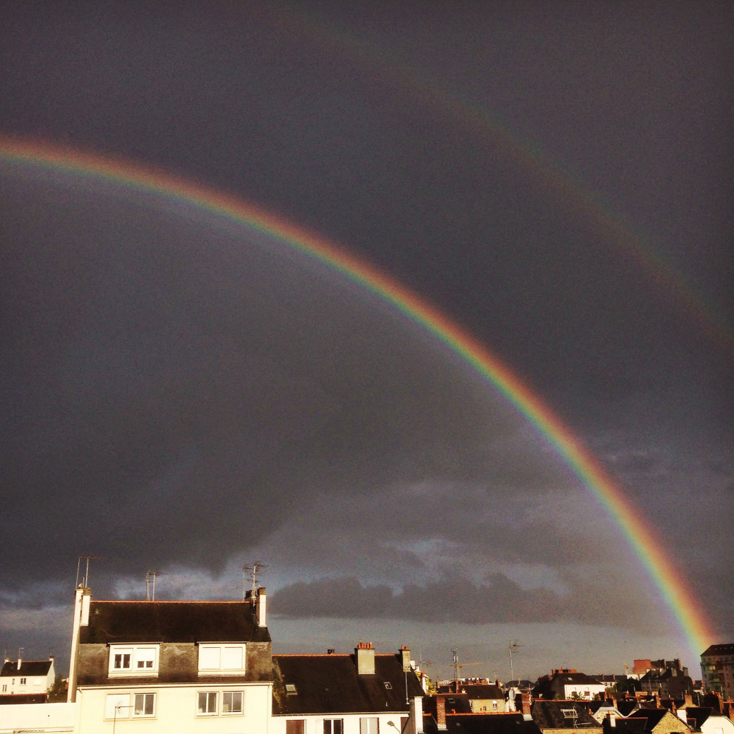 Double arc-en-ciel
