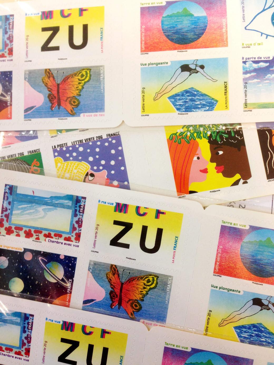Encore des timbres ^.^