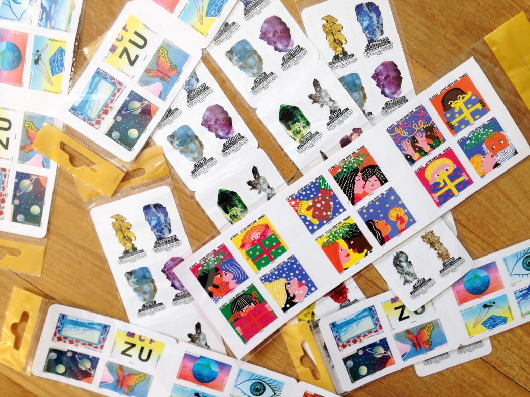 Pluie de timbres
