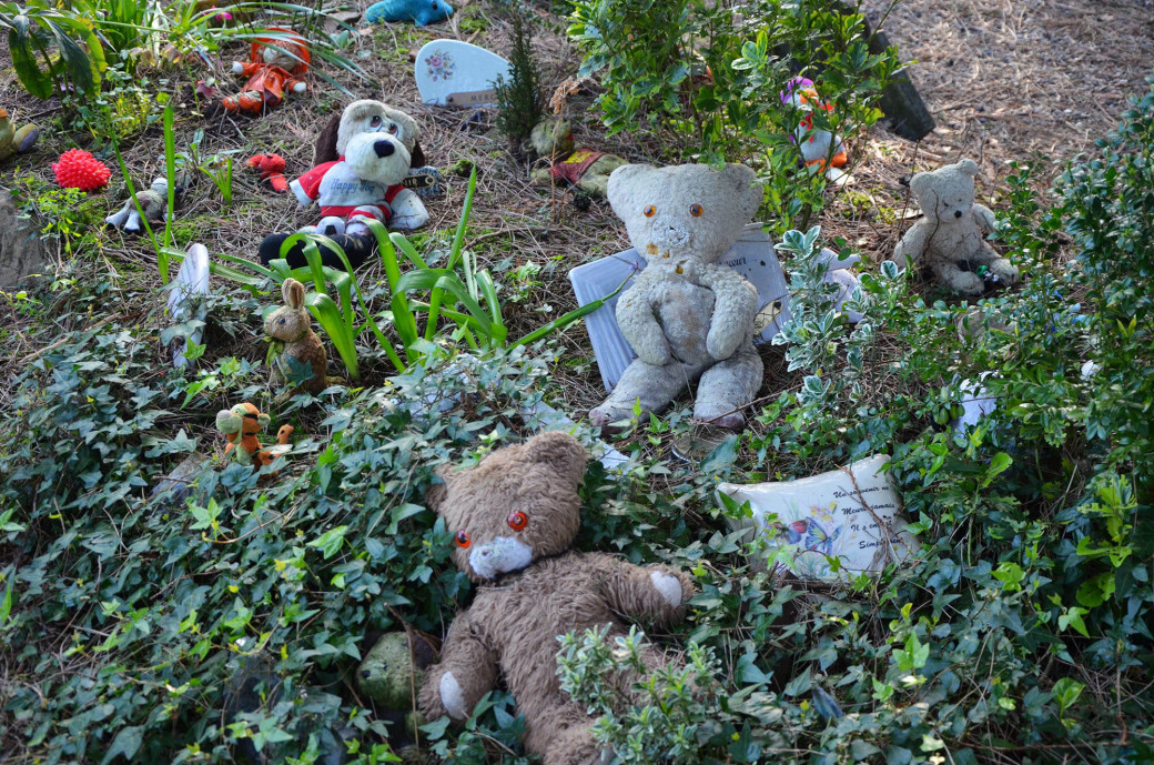 Le cimetière des ours en peluche