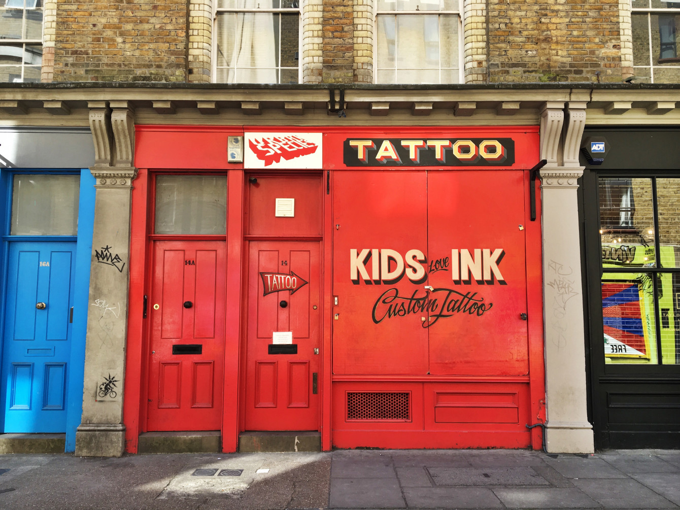 Kids Love Ink, à Brick Lane