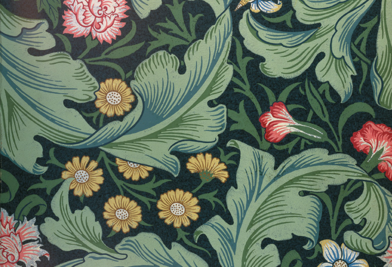 Motif dessiné par William Morris