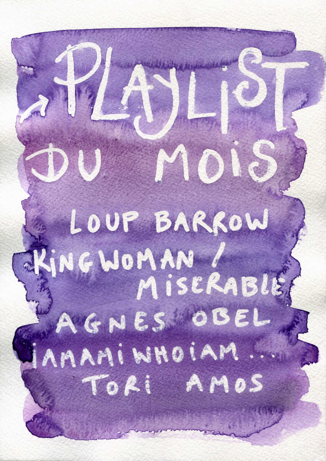 Playlist du mois