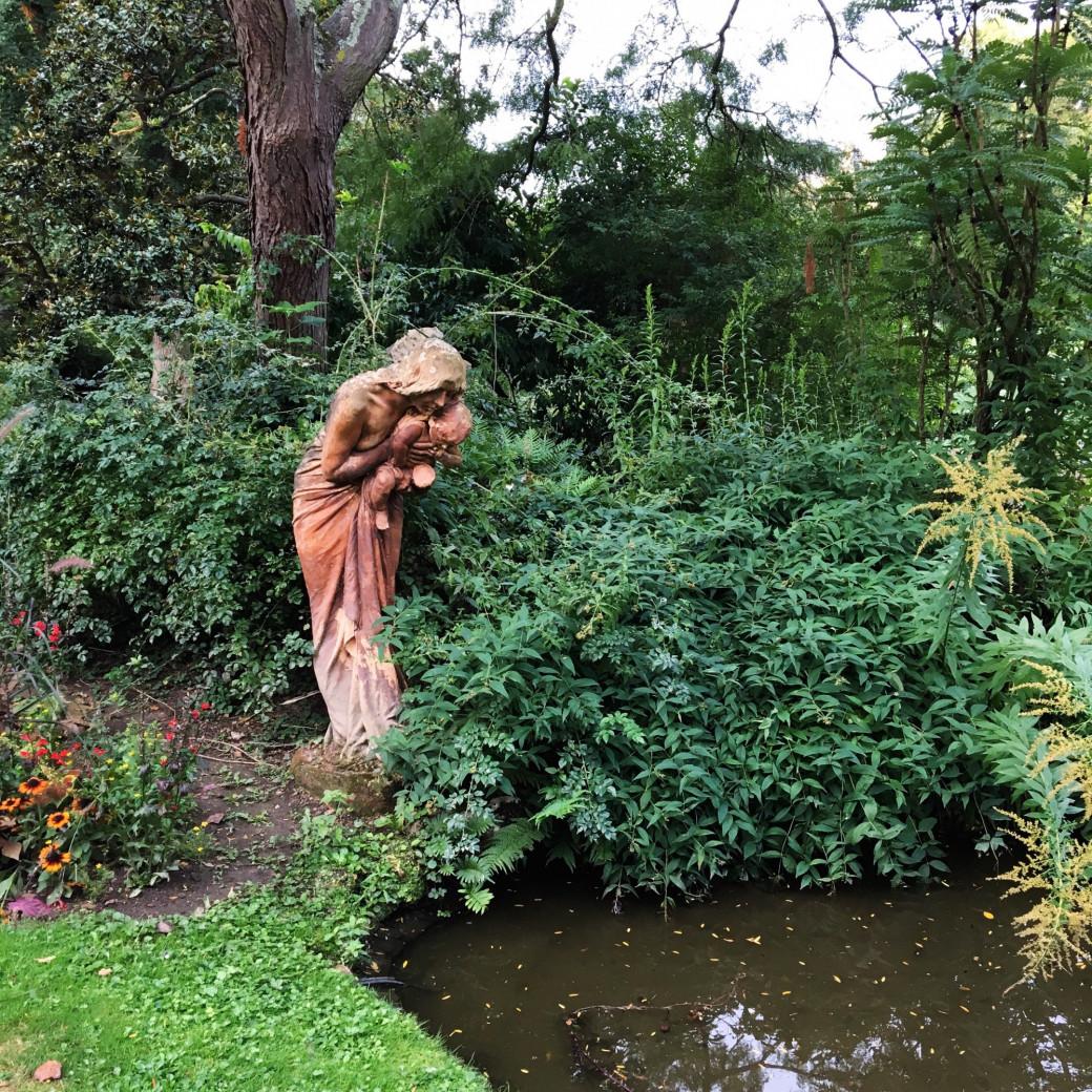 Le joli jardin public de Nantes
