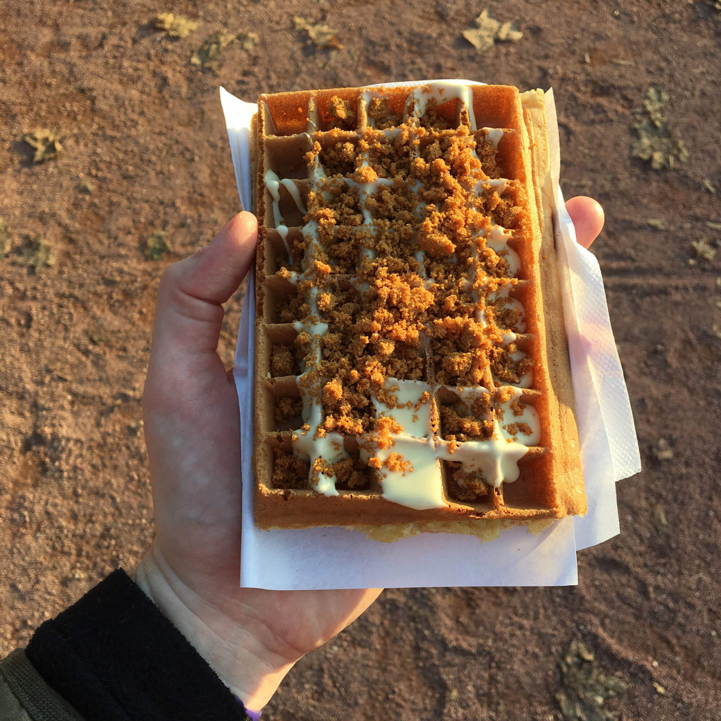 THE gaufre