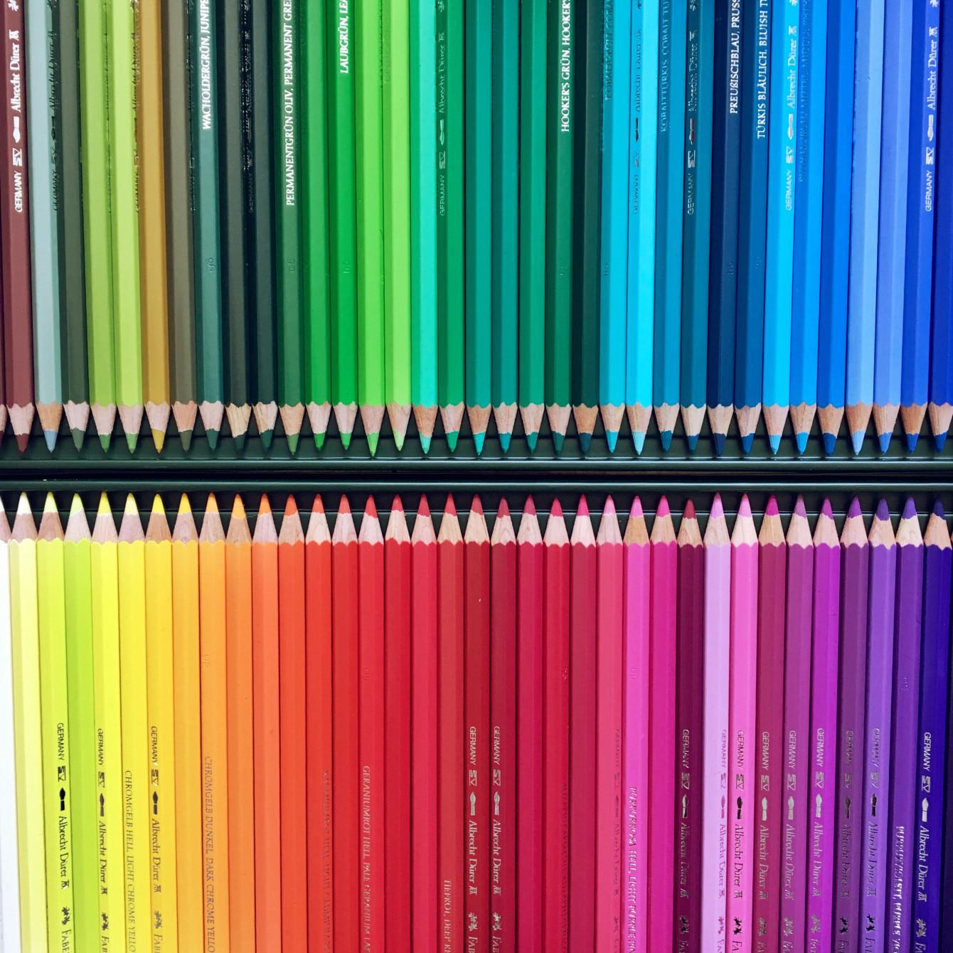 Mes fabuleux crayons aquarellables