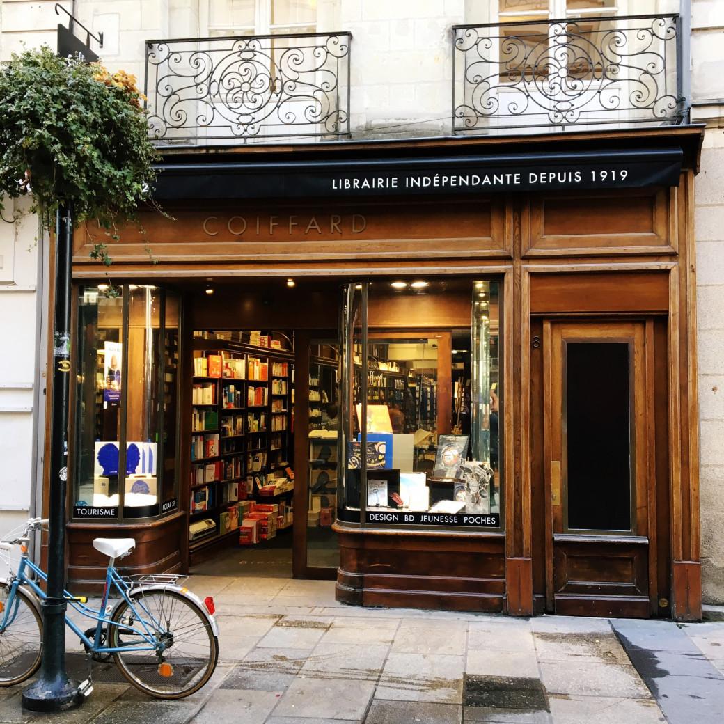 Ma librairie nantaise préférée: Coiffard