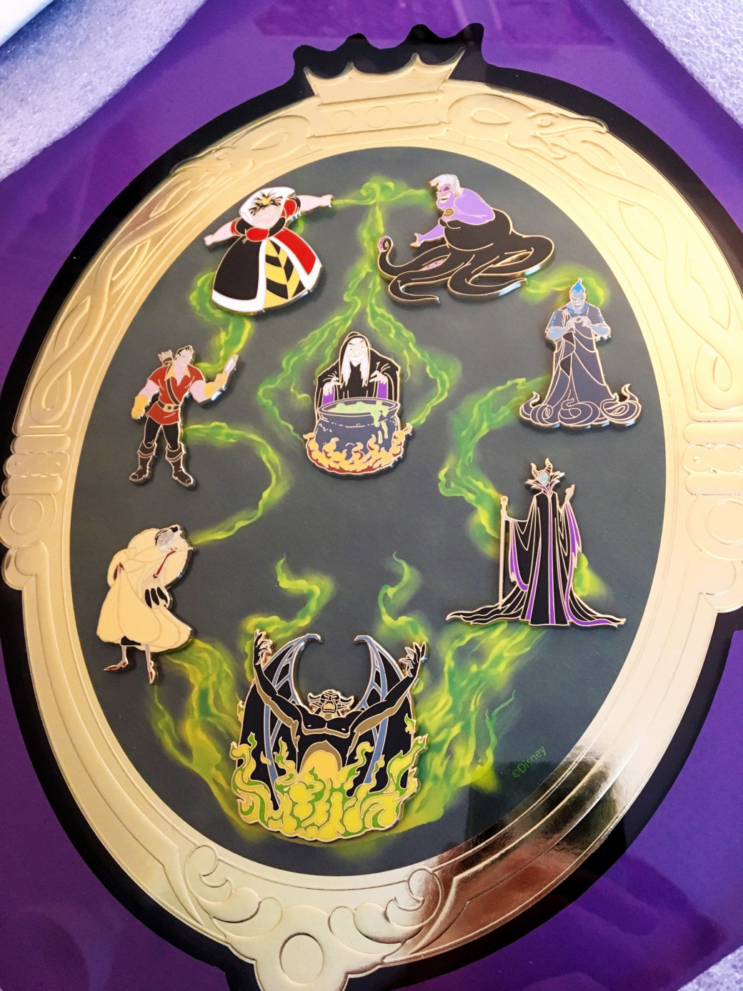 Pins Disney « Villains »