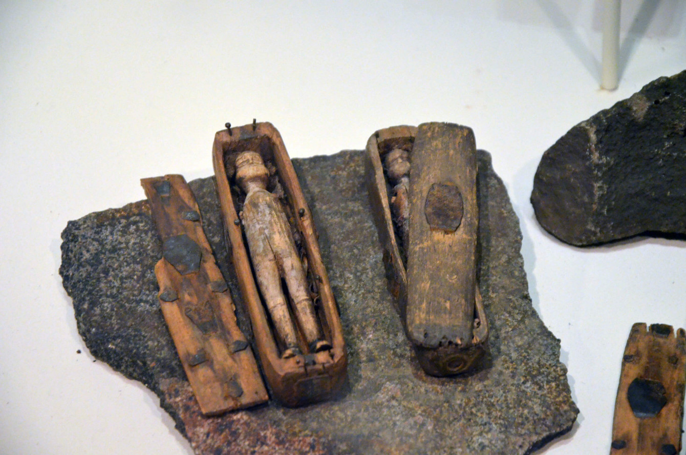 Cercueils miniatures d'Arthur's Seat