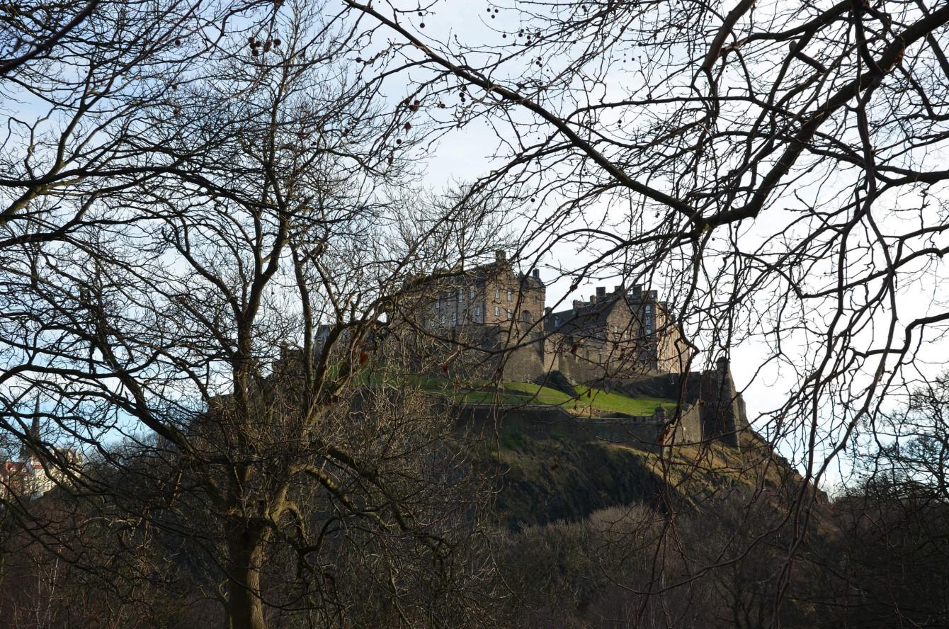 Le chateau d'Édimbourg