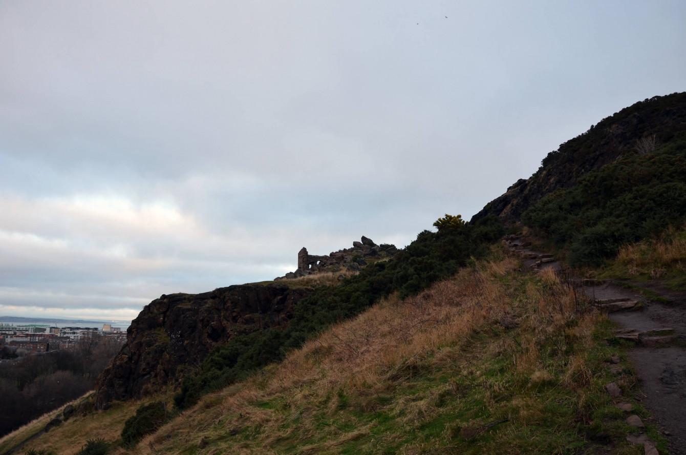 Ruines à Holyrood Park