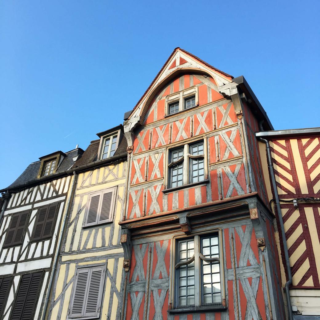 Les maison à pan de bois d'Auxerre