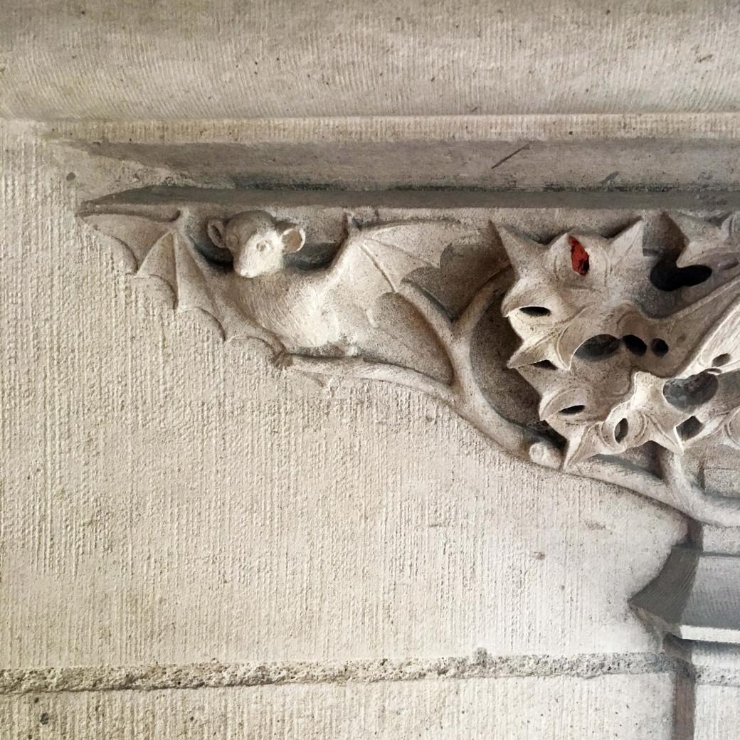 Chauve-souris de pierre