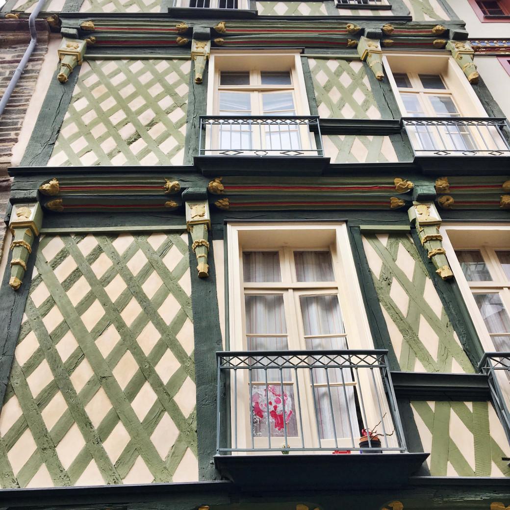 Les belles maisons rennaises