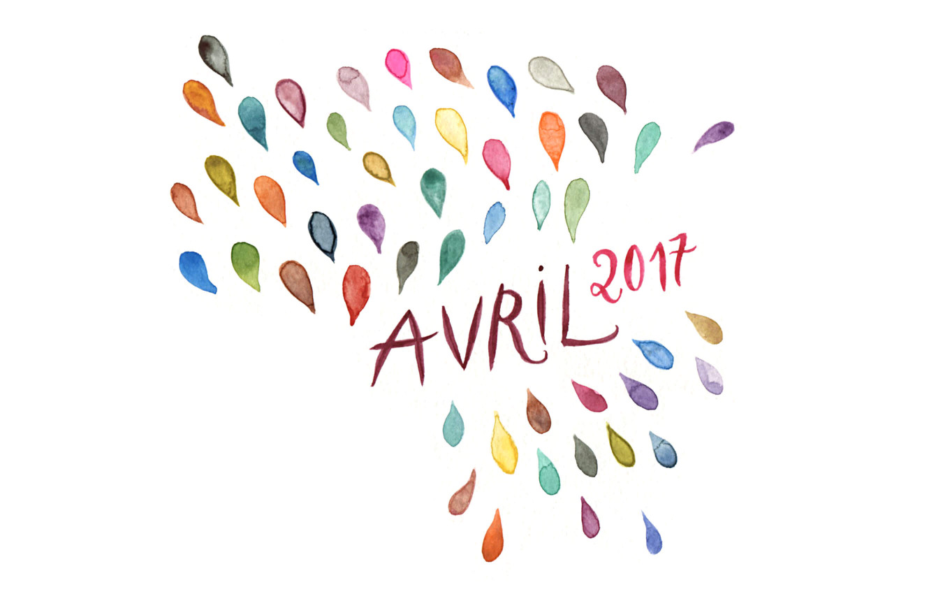 Avril 2017 : mes favoris