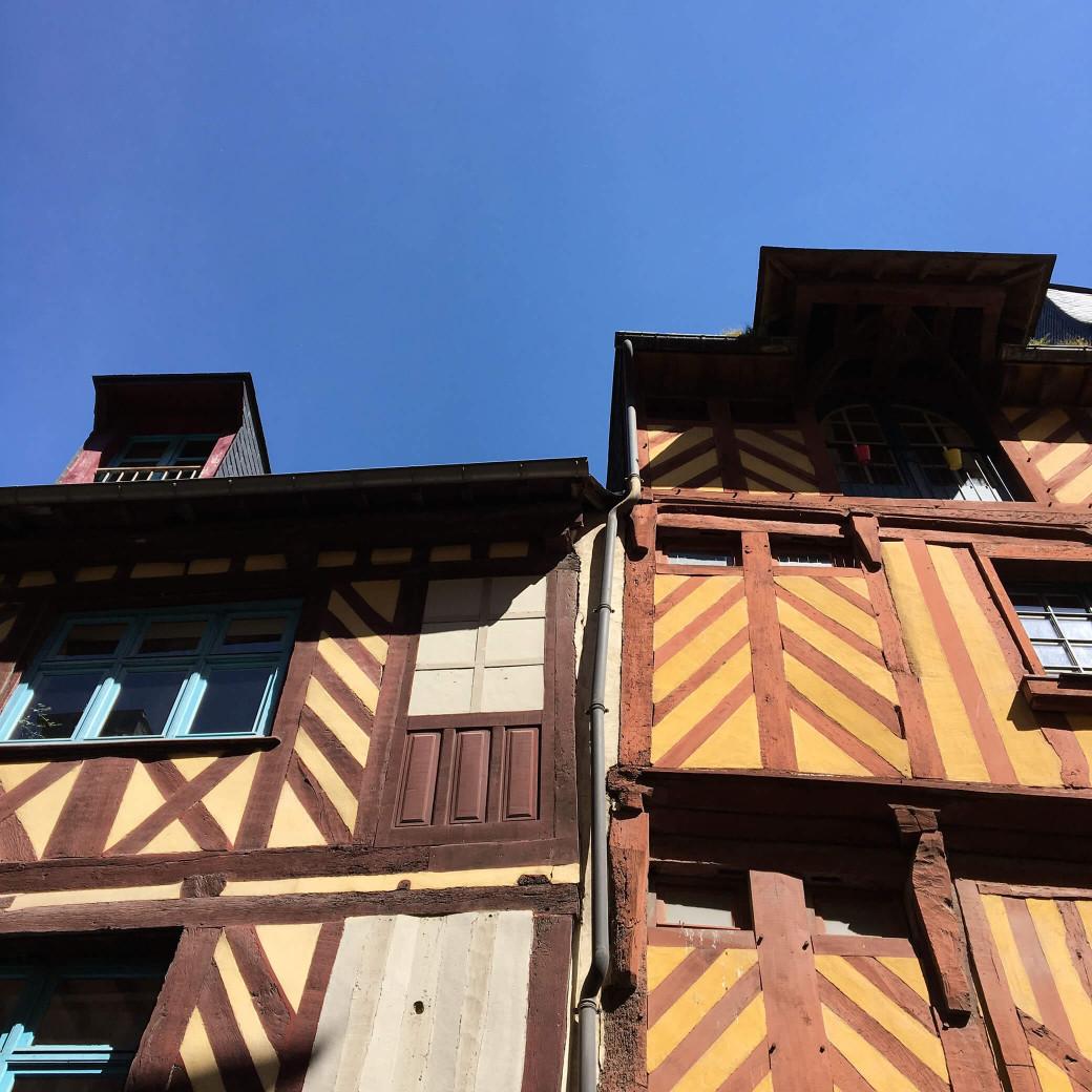 Les maisons rennaises à pans de bois