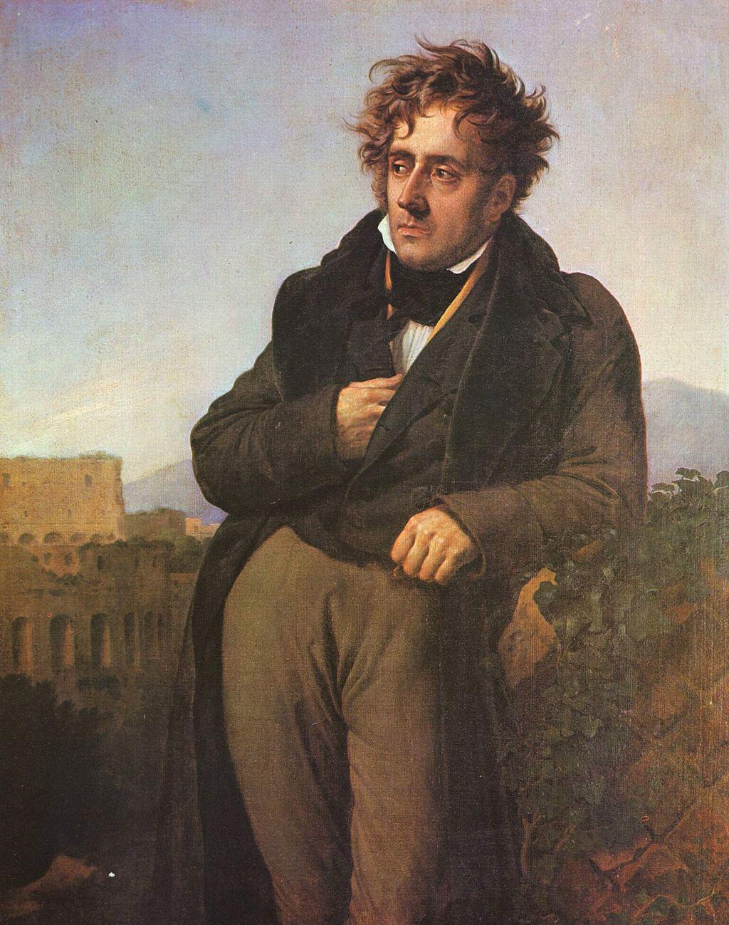 «Portrait de Chateaubriand» par Anne-Louis Girodet.
