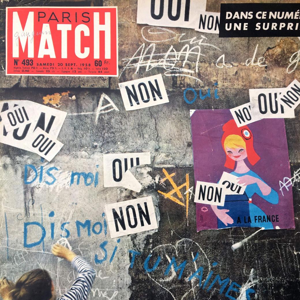 Un vieux Paris Match