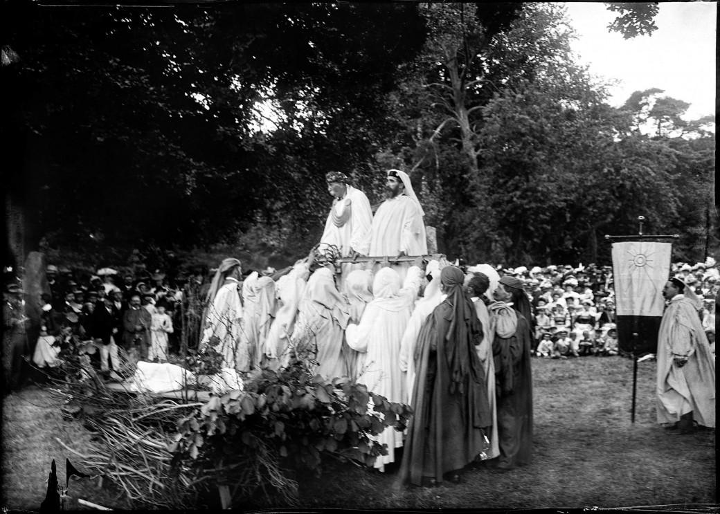 Rassemblement de druides bretons.