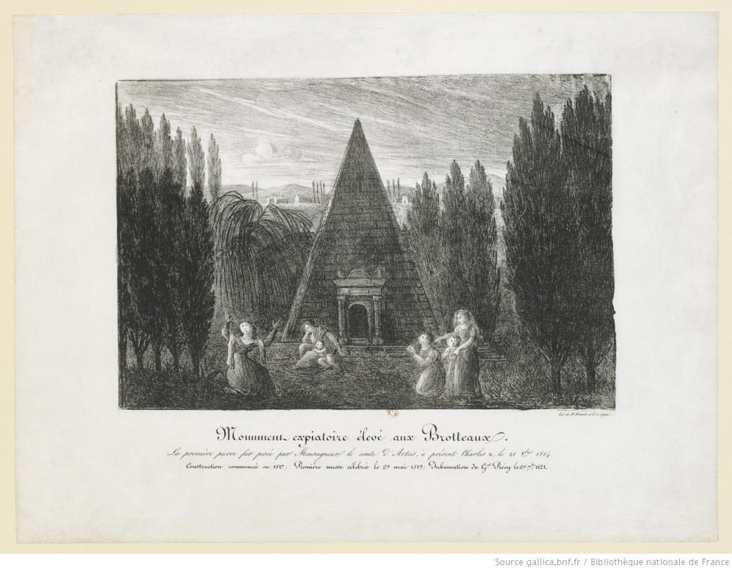 Monument expiatoire élevé aux Brotteaux.