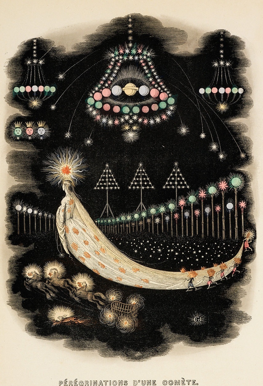 Pérégrinations d'Une Comète