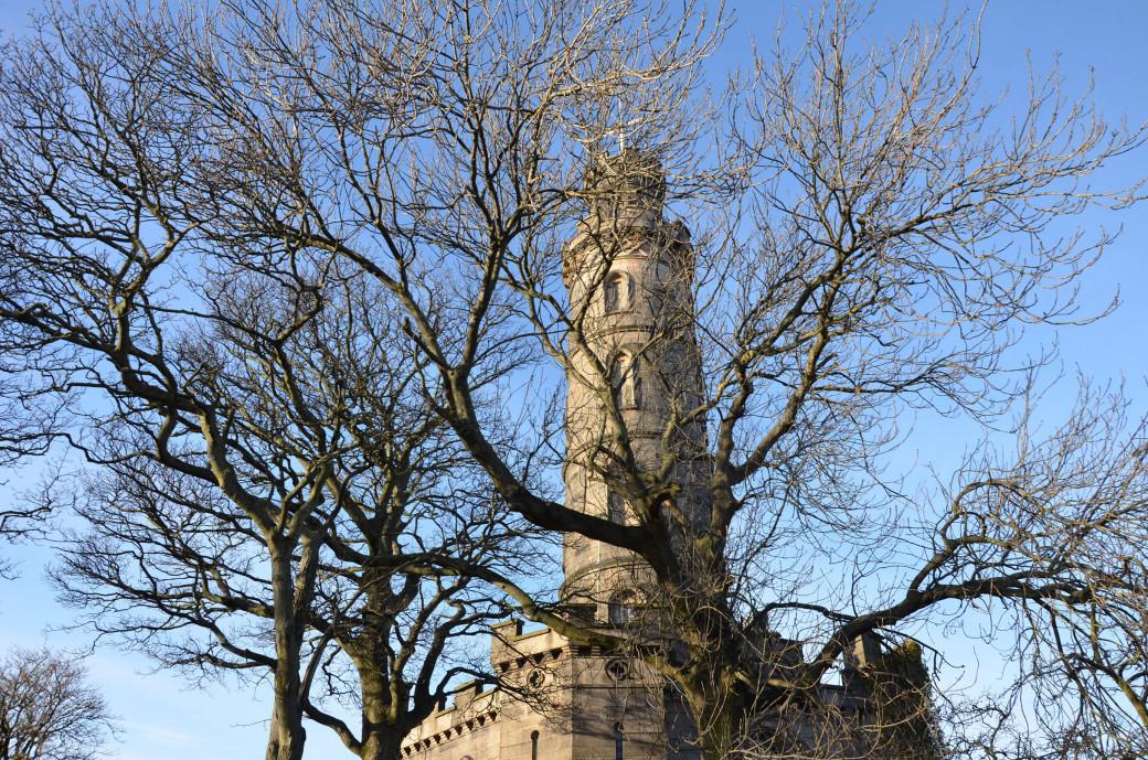 Le Nelson Monument.