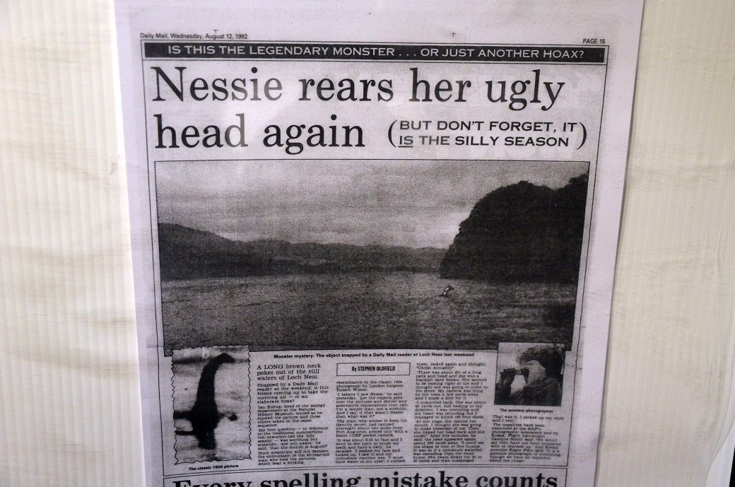 Nessie rears her ugly head again