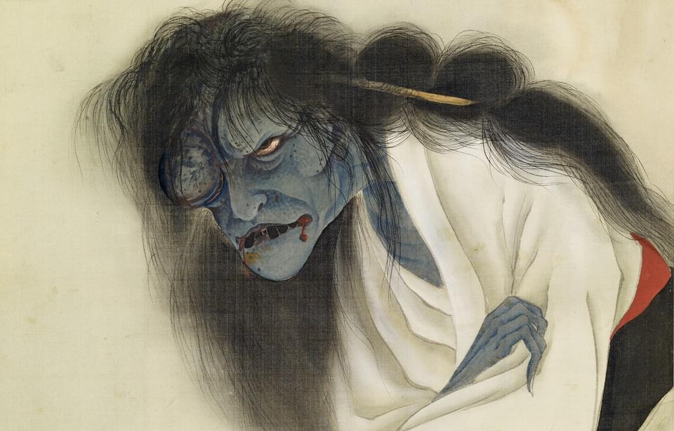 Peinture du fantôme d'Oiwa
